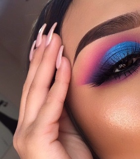 cosmetics, eyes and makeup