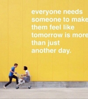 someone, yellow and feel