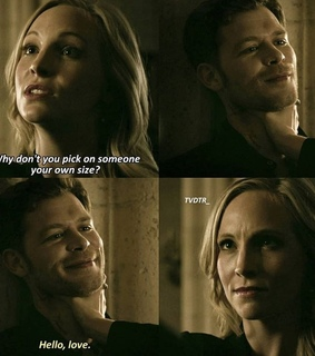 klaus and caroline, love and season finale
