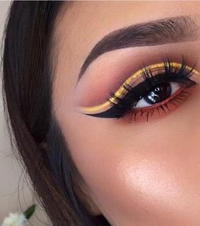yellow, liners and perfect
