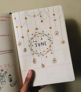 bullet journal, art and pretty