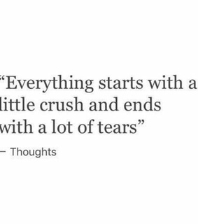 everything, and and crush