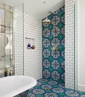 decoration, blue and ideas
