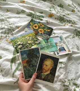 van gogh, aesthetic and soft