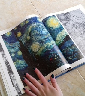 starry night, van gogh and the scream