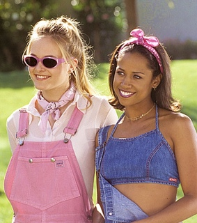 alicia silverstone, stacey dash and overalls