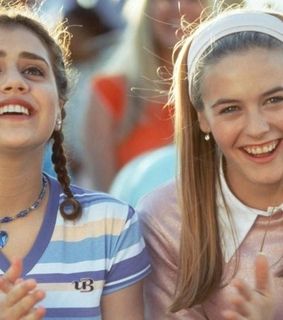 brittany murphy, fashion and alicia silverstone