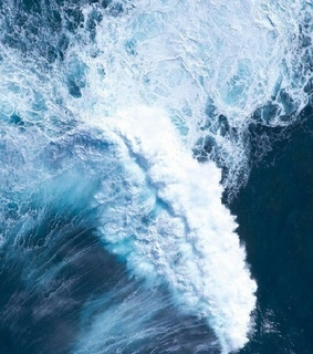 wave, water and sea