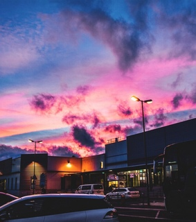 hipster, life and pastel sky