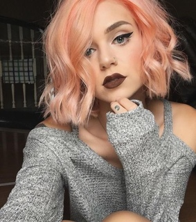 pastel hair, girl and curly hair