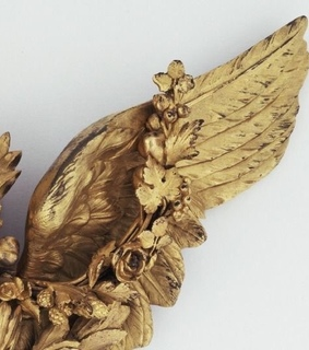 gold, angel and wing