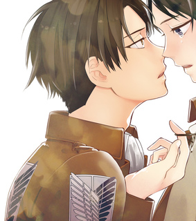 levi ackerman, eren jaeger and riren