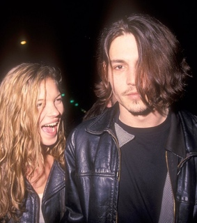 johnny depp, 90s and couples