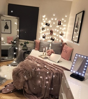 bedroom, love and interior