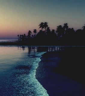 ocean, sunsets and beach