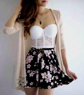 fashion, confidence and floral