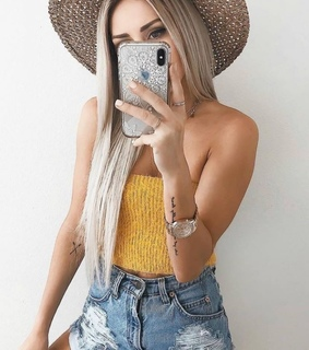 yellow, fashion and summer