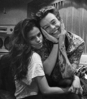 harrystyles, selenagomez and harlena