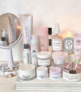 beauty, skincare and vanity