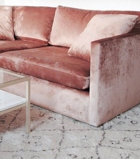 decor, rosegold and couch