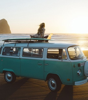 surf, girl and surflife