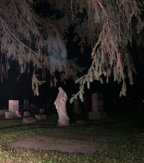 scary, dead and cemetery