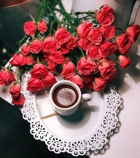 roses, power and coffee