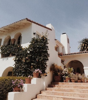 travel, california villa and summer