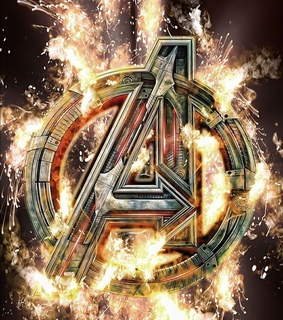 Logo, infinity war and Marvel