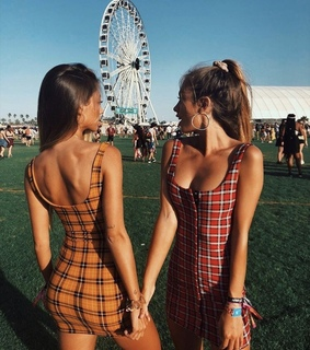 body, tight dress and besties