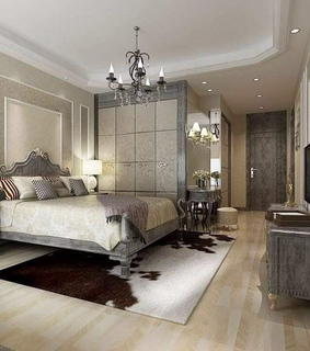 home, bedroom and decor