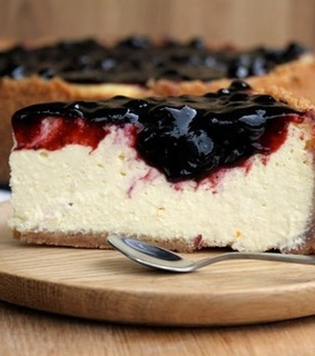 yummy, cheesecake and blueberry