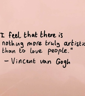 vincent, art and quotes