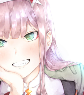 art, zero two and cute