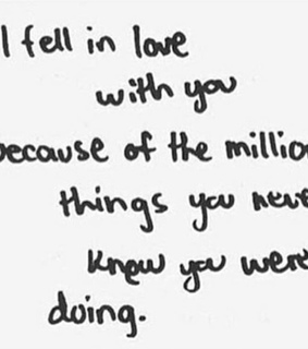 milion, things and you