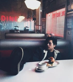 diner, cute boys and cole sprouse