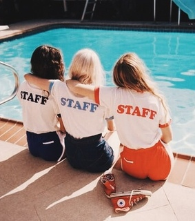 staff, bff and best friends