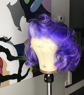 popping, slay and wig