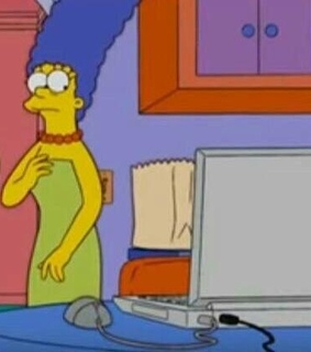 meme, reaction pic and los simpsons