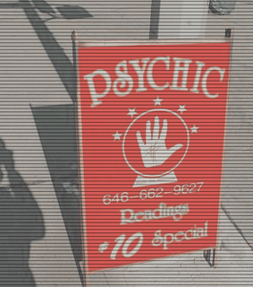 Psycho, hand and theme red