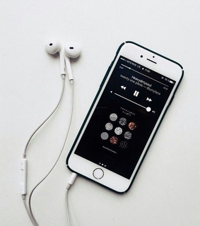 iphone, music and apple