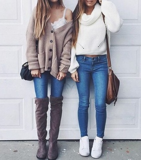 teens, skinny jeans and style