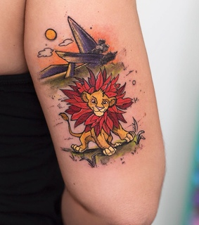 tattoo, hakuna matata and inked