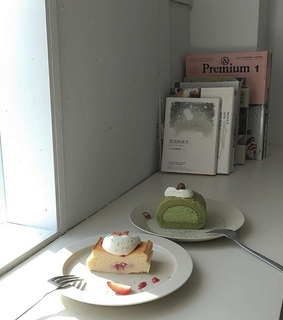 bakery, matcha and greentea
