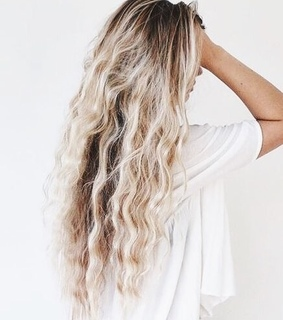 long hair, hairstyle and ombre