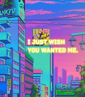 purple, i just wish you wanted me and 8-bit
