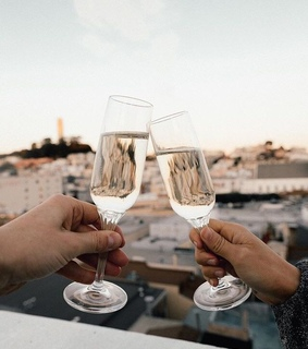 luxury, champagne and drink