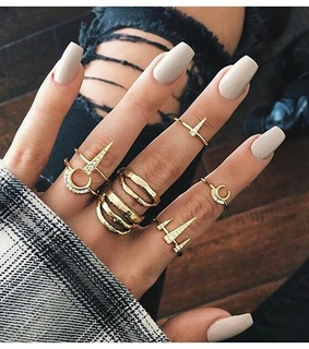 beige, nails and glam