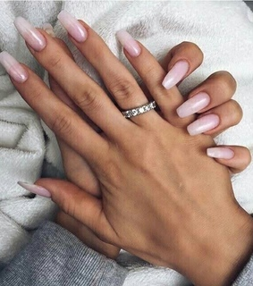 fake nails, glam and long nails