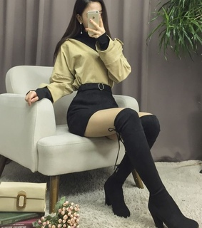 skirt, classy and ulzzang